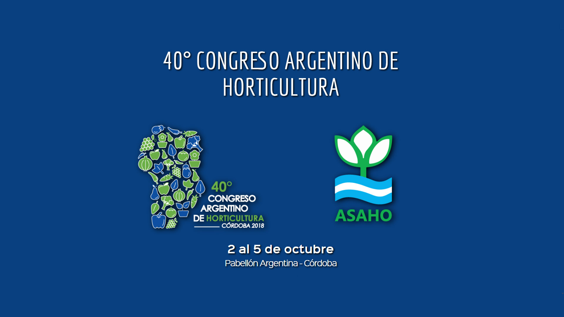 40°  Argentine Horticulture Congress